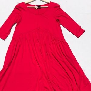 NWT Agnes & Dora Red Muse Midi Dress
